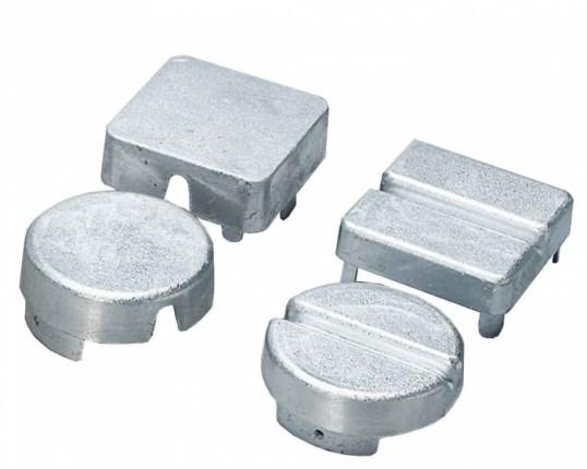 Deksel voor aluminium vierkante netpalen