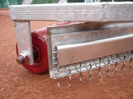 Additionele 3-delige groffe draadschraper voor Raumfix