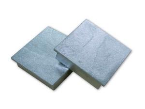 Deksel voor verankeringsbuis, vierkant