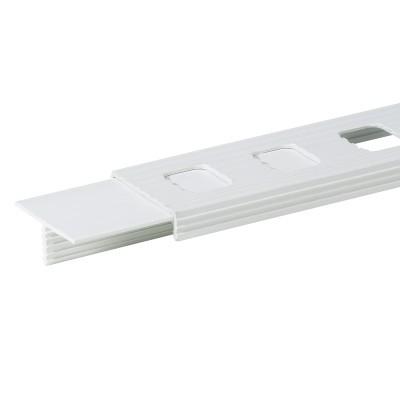 Tijgerband lijnenset, 4 cm, wit
