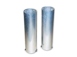 Verankeringsbuizen voor ronde tennispalen, doorsnede: 85 mm