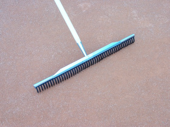 Rubber hark, 70 cm.