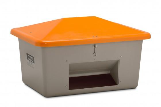 Gravelbox met uitneemopening, 1,5 ton