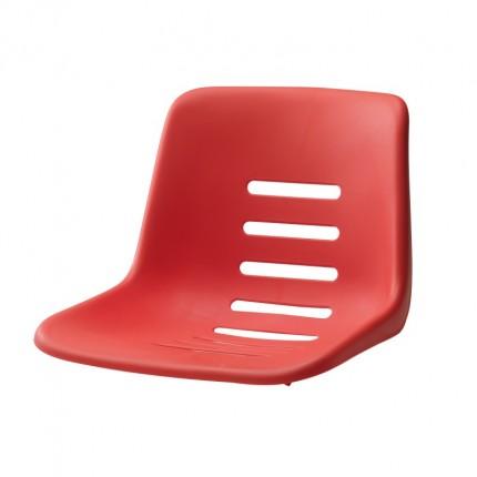 """Vervangings zitschaal voor scheidsrechterstoel """"Toernooi"""", rood"""