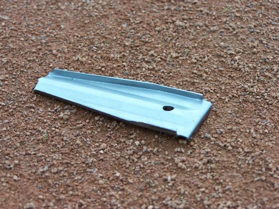 Vervangings grondanker in L-vorm voor Ideala lijnen V2A