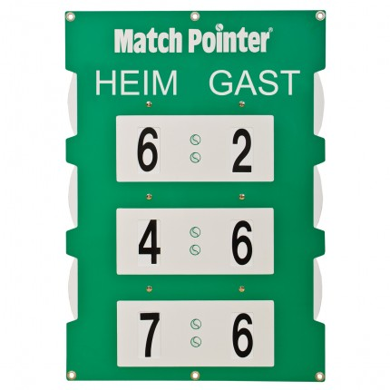 "Scorebord ""Match-Pointer"""